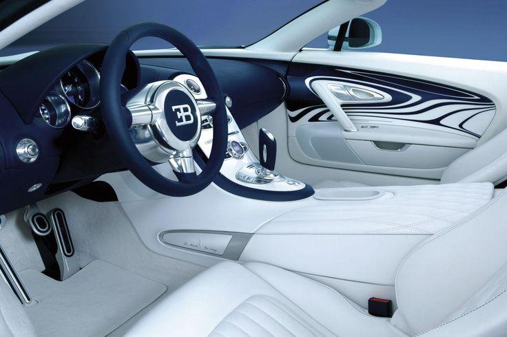 Bugatti Veyron Grand Sport L'Or Blanc-Interior is Amazing too!!