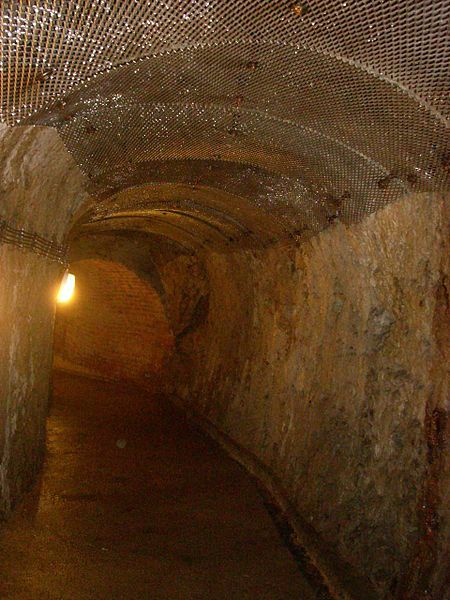 The Underground Corridors of Jihlava, Czech Republic