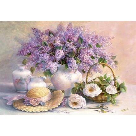 102006 - Puzzle Día de la Flor, Trisha Hardwick, 1000 piezas, Castorland.  http://sinpuzzle.com/puzzle-1000-piezas/1098-102006-puzzle-dia-de-la-flor-trisha-hardwick-1000-piezas-castorland.html