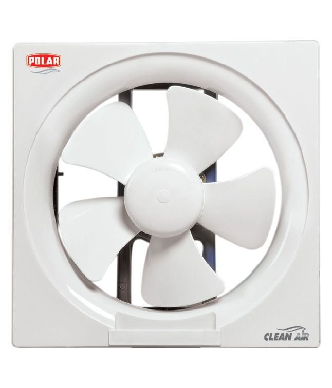 POLAR CLEAN AIR PASSION EXHAUST FAN have motors that are 20% stronger to deliver 25% more air. That apart. These are resistant to burnouts even in the most humid atmosphere. The automatically opening shutters keep the dust, water and light out when it is not in use. They available in white & Ivory.