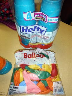 Marshmallow shooters....gonna do this for the 4th grade winter party next week. ~V
