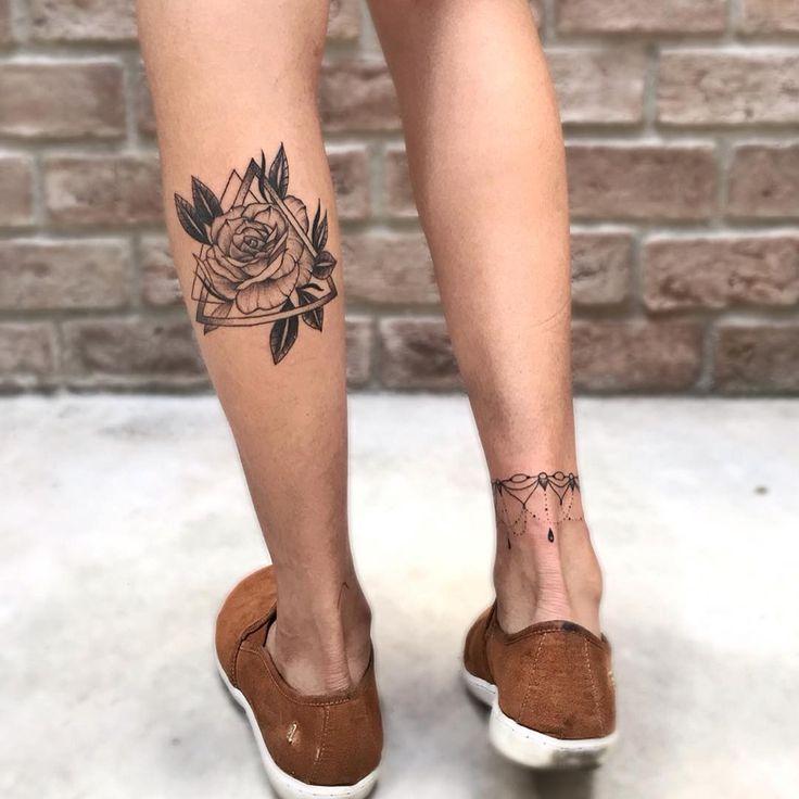 Tatuadores com a AGENDA ABERTA em São Paulo! - Blog Tattoo2me | Tatuagem feminina panturrilha, Tatuagem mulher, Tatuagens na panturrilha