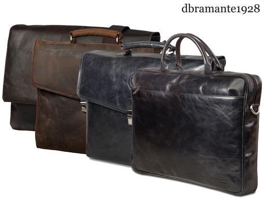 Dagaanbieding: Dbramante1928 lederen laptoptassen
