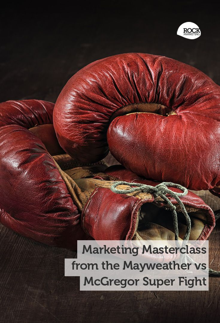 It's fight night, and our latest article looks at marketing lessons from the Mayweather McGregor super fight. #MayweatherMcGregor #Marketing #SmallBusiness #Boxing
