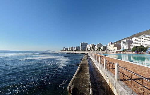 Go for a swim at the Sea Point swimming pool.