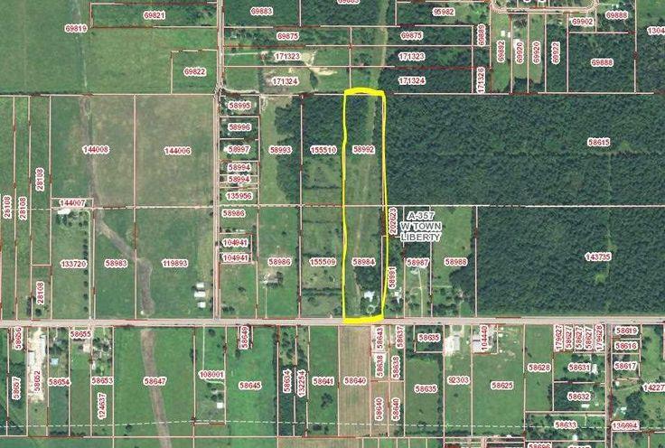 4056 FM 1960, Dayton , Texas 77535 - Liberty County  $290,000 20 Acres Commercial Property, Farms, Undeveloped Land Allen 936.336.0336