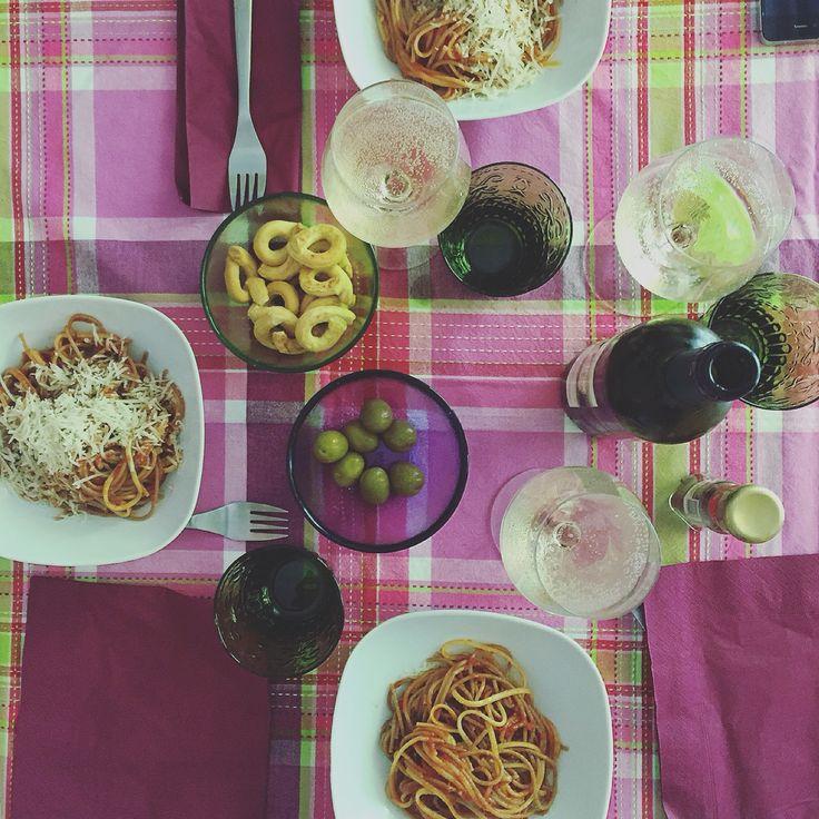 #spaghetti and #friends
