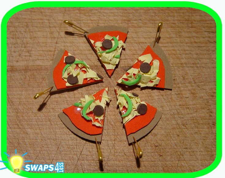 Girl Scout Cookie Swaps | Mini Pizza Scout Swaps Girl Craft Kit SWAPS4LESS | eBay