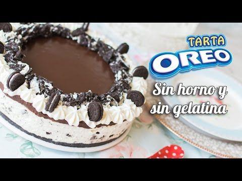 """Tarta """"Oreo"""". Sin horno, sin gelatina y sin complicaciones!!"""
