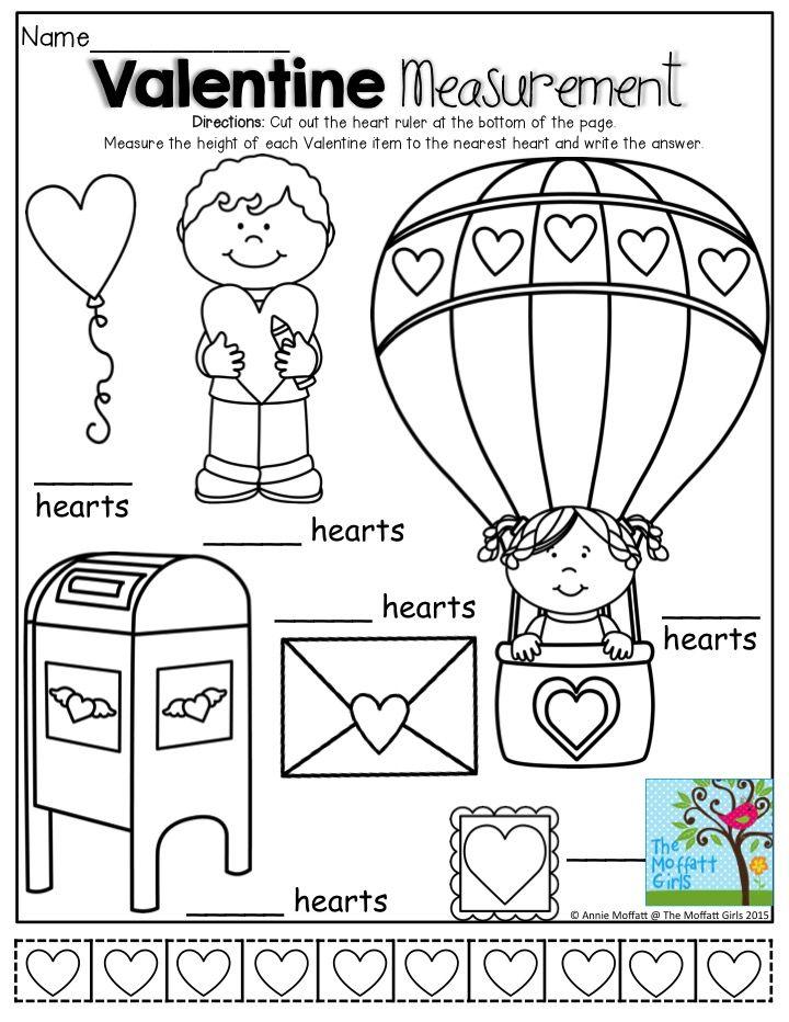 335 best Valentine\'s Day: Math images on Pinterest | Kids valentines ...