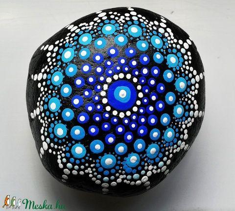 Mandala kavicsok (aPiros) - Meska.hu