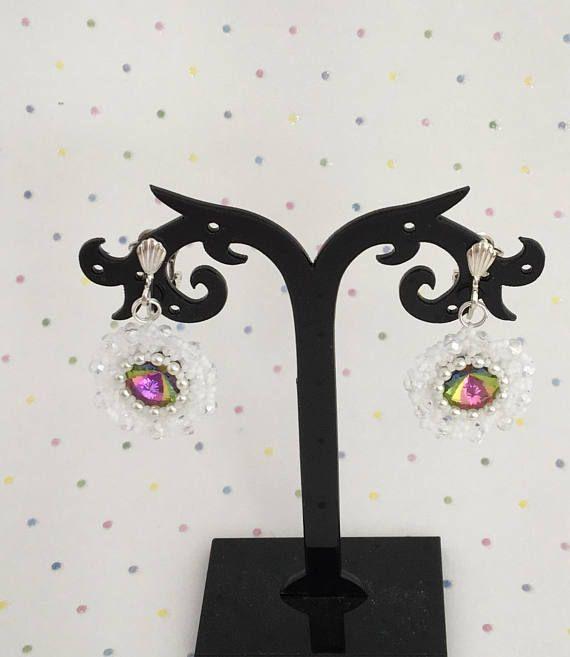 Clip on earrings Ladies Clip On Earrings Silver Plated