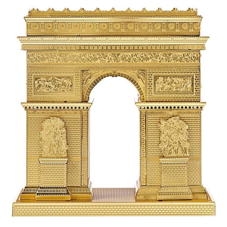 24.14$  Watch here - http://alitp5.shopchina.info/1/go.php?t=32741953595 - 3D Metal Puzzle Gold Arch Triumph DIY Creative Mini Model NANO Kids Toys Adult Gifts Children Educational Puzzles TK0039 24.14$ #magazine