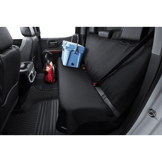 Rear Bench Seat Cover By Aries Manufacturing In Black