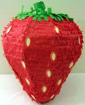 Fruit Pinatas filled with fruit candy!