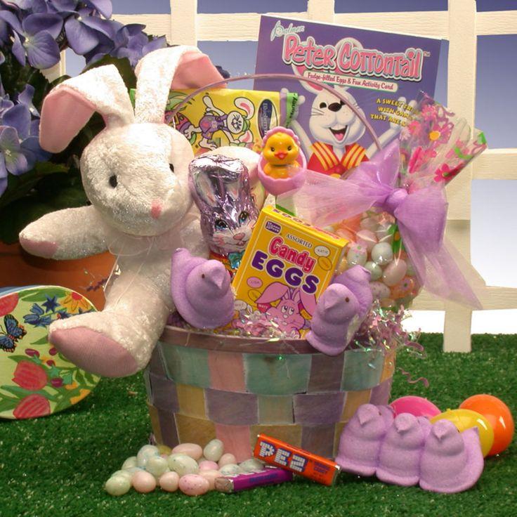 Bunny Love Easter Gift Basket - 913714