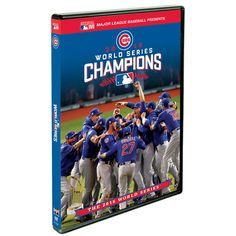 Chicago Cubs 2016 World Series Champions Commemorative DVD  #ChicagoCubs #Cubs #FlyTheW #WorldSeries SportsWorldChicago.com