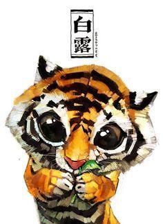 Милейшие животные от Xue Wawa фото #3