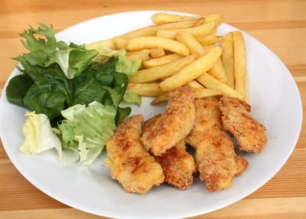Kuracie nugetky v syrovom obale pečené v rúre, Hlavné jedlá, recept | Naničmama.sk