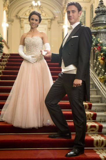 A Royal Christmas~ Emily Taylor & Prince Leopold (Leo)~ Love Her Dress & It's Pink. | Chritmas ...