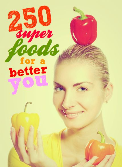Super foods   250 super foods for a better youhttp://savingsroom.com.au/wp-content/uploads/2013/10/super_foods_better_y.jpg http://savingsroom.com.au/super-foods-250-super-foods-better-you/  When I think of super foods I envisage a mum eating a head of raw broccoli and then feeling like she could fly into her housework with a cape! I tried eating from my super food list for 21 days to investigage the notion that you are what you eat.  Summary? Short of feeling like I need