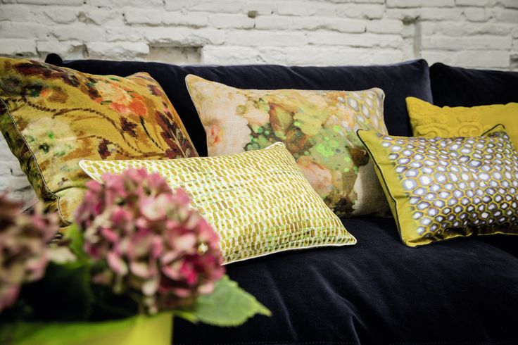 Decor Elitis cushions #LoggereWilpower