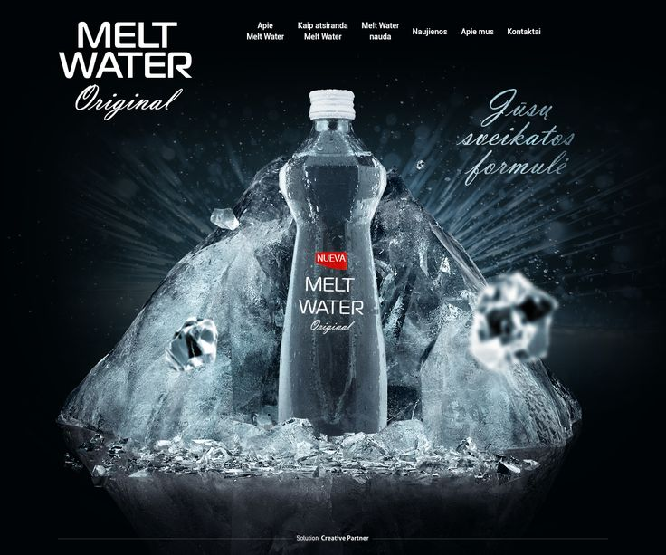 Melt Water. Питьевая вода, Сайт © ФедорШуленок