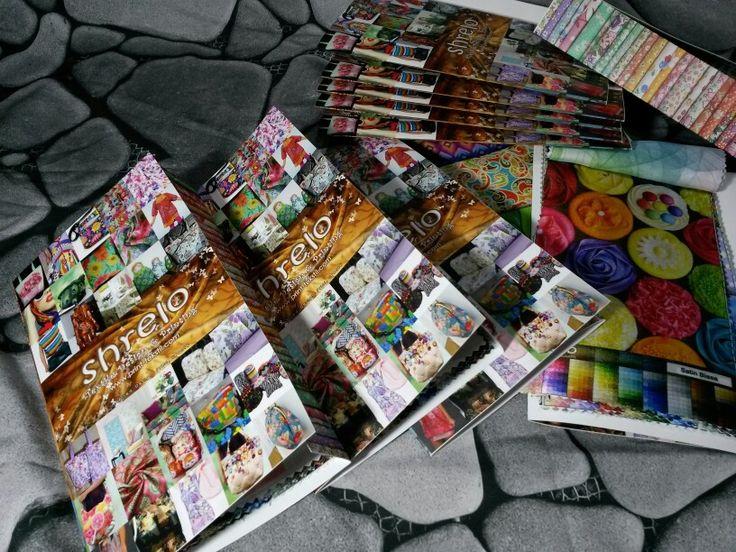 Katalog Shrelo. Bisa dipesan dng mengisi form order di www.print-tekstil.com