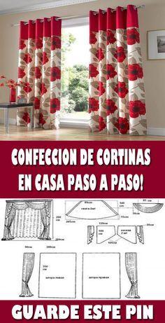 APRENDE A CONFECCIONAR CORTINAS DE COCINAS CON PATRONES MUY FÁCIL CURSO TALLER …