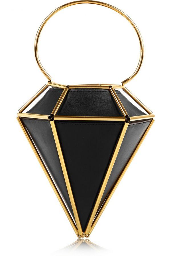Foto 14 de 14 Bolso de mano en forma de cofre triangular de Finds. Precio 915 euros | HISPABODAS