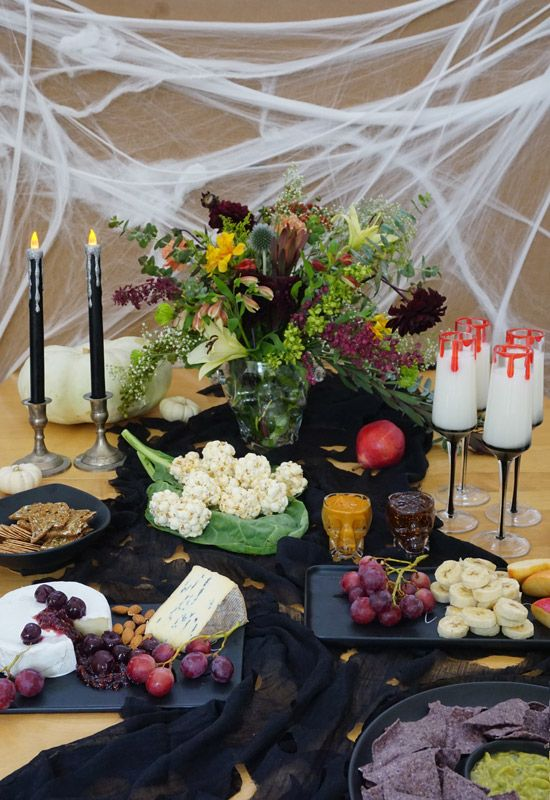The Design Confidential's Halloween Entertaining From Day to Night // Fright and Delight + Spooky Mixtape with @Pier1 #FrightandDelight
