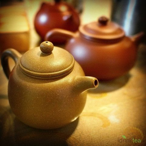 Purple clay teapot has the reputation of being high quality because of its fine texture and durability. The wonderful porous quality of the clay is perfect for retaining the tea's flavour.They became popular during the Ming Dynasty is now very much sought after by tea connoisseurs.
