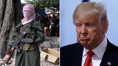 """Al-Shabaab terrorist group calls Trump 'brainless billionaire' https://tmbw.news/al-shabaab-terrorist-group-calls-trump-brainless-billionaire  Published time: 24 Jul, 2017 16:28The Somalia-based Al-Shabaab terrorist group has mocked US President Donald Trump in a new video, calling him a """"brainless billionaire."""" It comes after Washington intensified efforts against the extremists.The video, according to the SITE Intelligence Group, refers to Trump as a """"brainless billionaire"""" and accuses US…"""