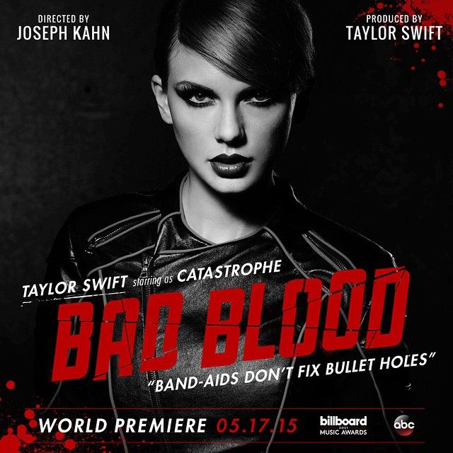 Meet Catastrophe.  #BadBloodMusicVideo
