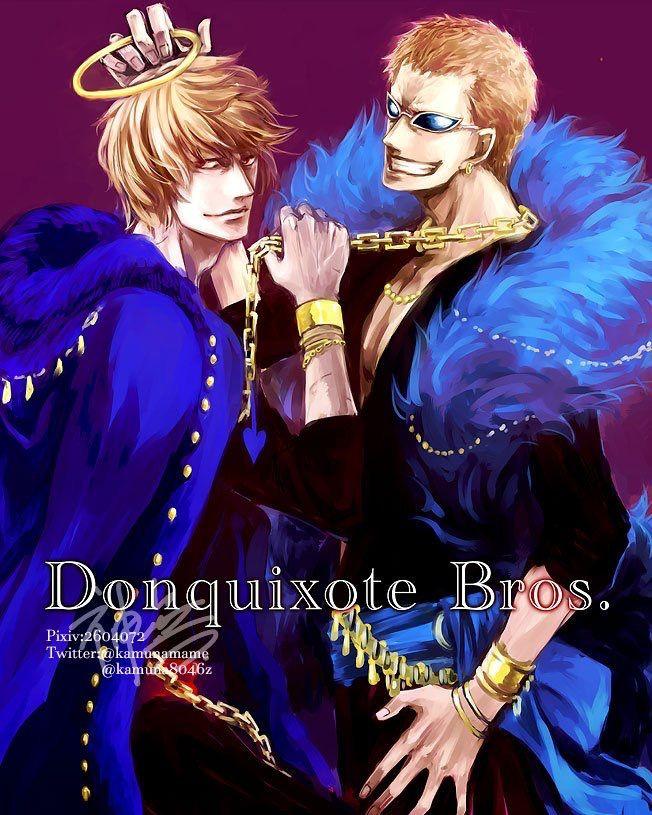 One Piece,Donquixote Doflamingo,Rosinante