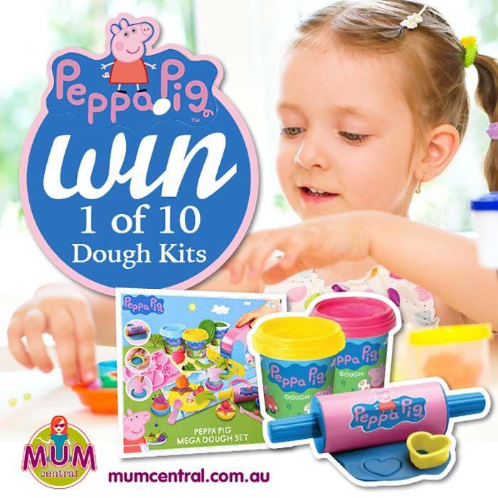 Win 1 of 10 Peppa Pig Mega Dough Sets