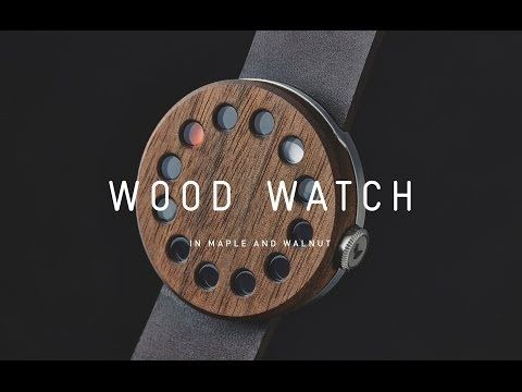 Grovemade Wood Watch on Behance