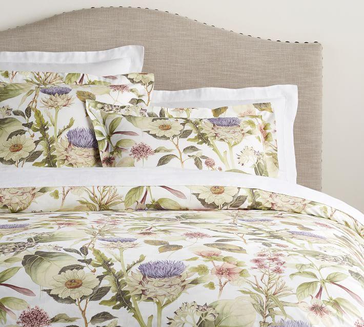 Thistle Print Shower Curtain Pottery Barn Duvet Cover Pattern Floral Duvet Cover Duvet Covers Floral