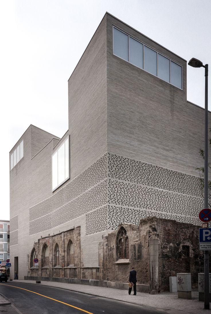 Finn Wilkie — Peter Zumthor, Kolumba Museum, Cologne, 2007 ...