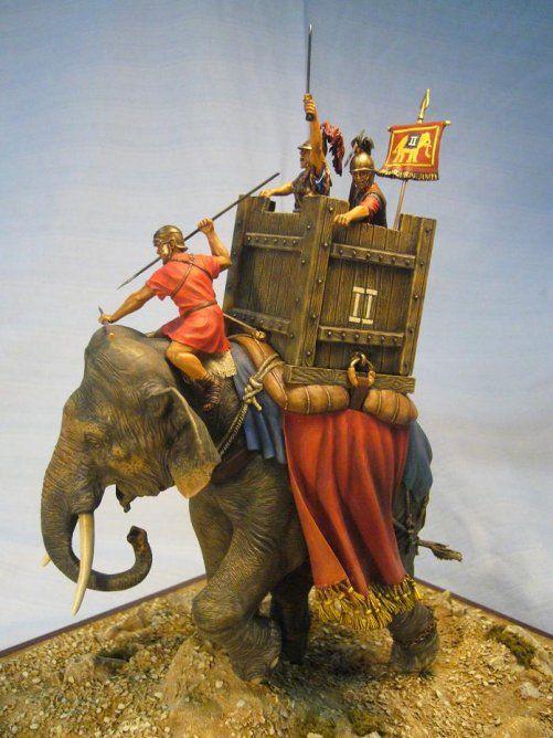 Roman War Elephant di M. Fantozzi