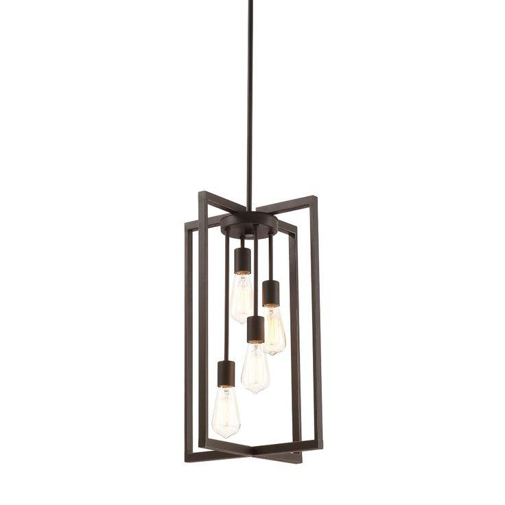 8 bulb retro pendant light home decorators collection - Google Search