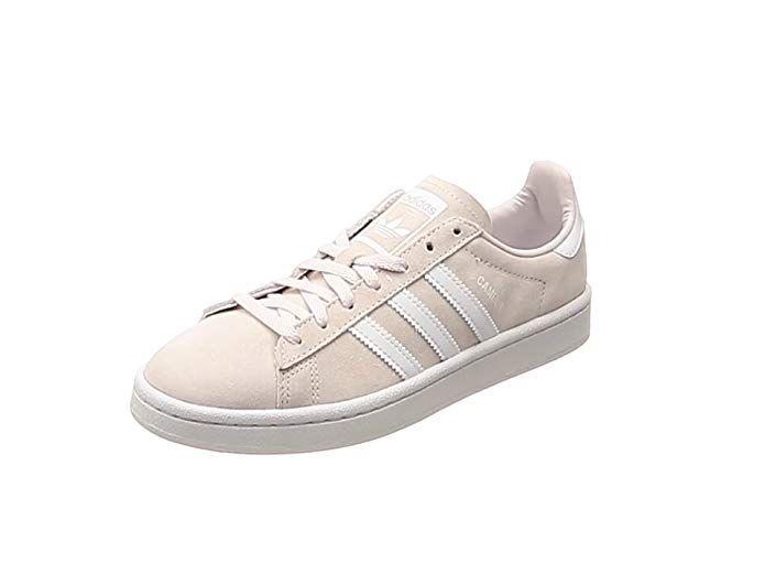adidas Campus Sneaker Damen Altrosa mit weißen Streifen