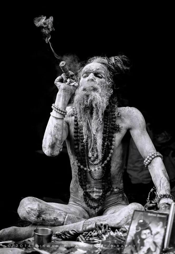 Shiva Smoking Weed Wallpaper Iphone