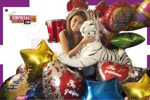 Peluche tigre de Bengala solo para ti Sorprende con este especial peluche gigante que enamorara una vez mas a esa persona especial. Visita nuestra tienda online www.sorpresascolombia,com o comunicate con nosotros 3003204727 - 3004198