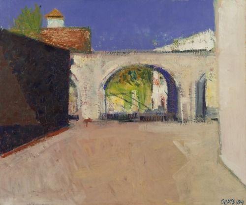 Willem Anthonie 'Wim' Oepts (Dutch, 1904-1988) - Aquaduct at Castries, 1984