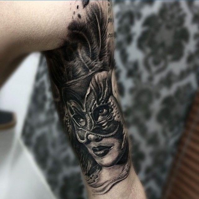Masquerade tattoo