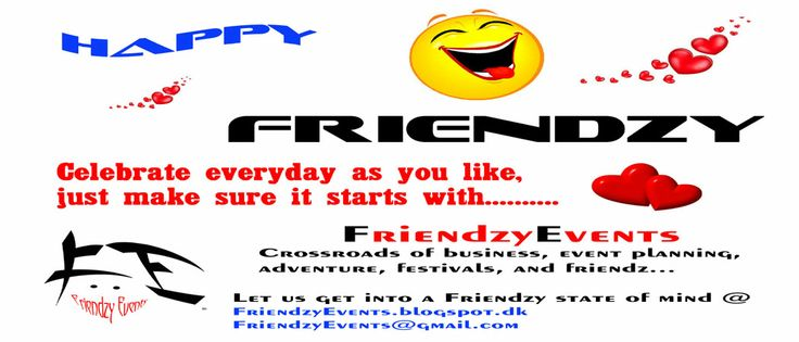 Having Friendzy Fun!!!!!  Feel the Pulse!  Friendzy Events is the crossroad of business, event planning, adventure, festivals, and friendz for memorable moments!