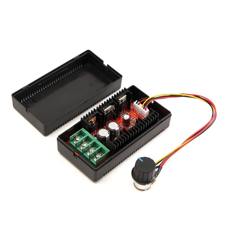 9-50V 40A DC Motor Speed Control PWM HHO RC Controller 12V 24V 48V 2000W MAX