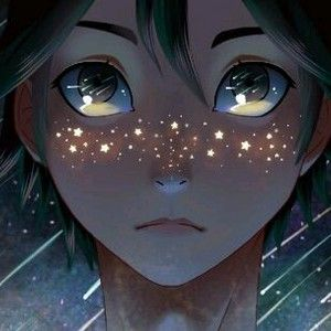 This is so beautiful!! I love the concept of star freckles
