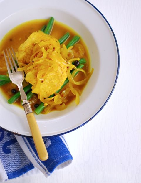 Cape Malay Pickled Fish from Pease Pudding